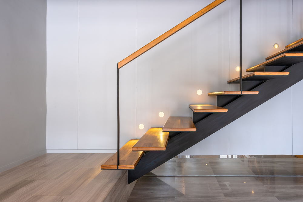 treppe mit led beleuchtung