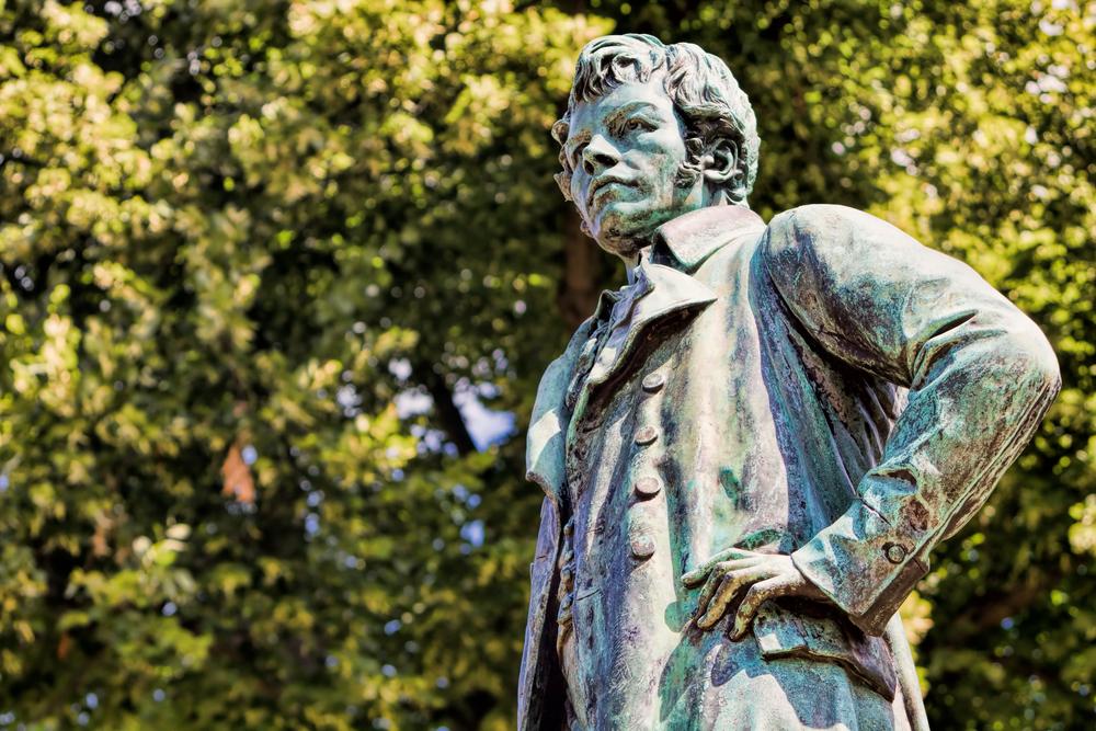 Karl Friedrich Schinkel statue