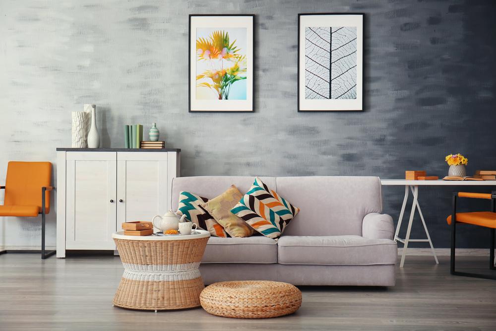 beste wandfarbe für wohnzimmer